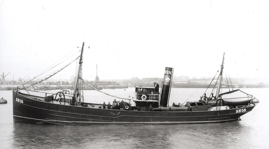 First World War Trawler Saxon Prince